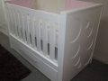Jada contemporary cot