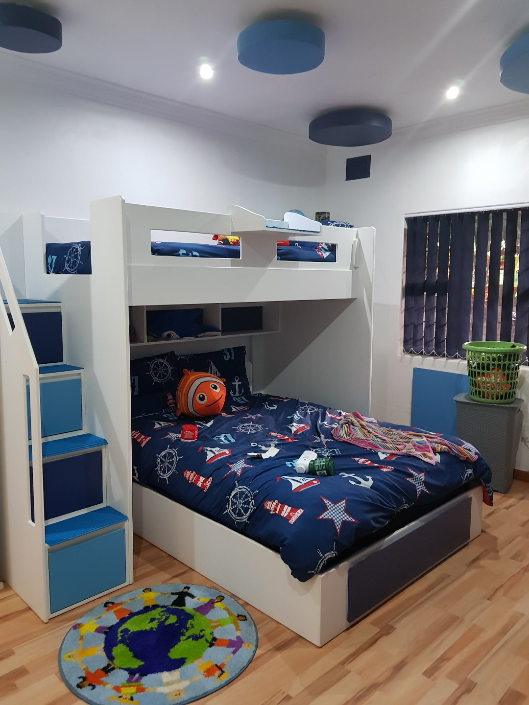 L Shape Jupiter Bunk Bed