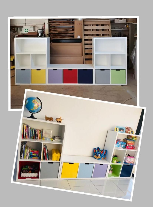 Storage Cube Shelfs