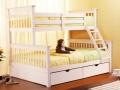 white tri bunk